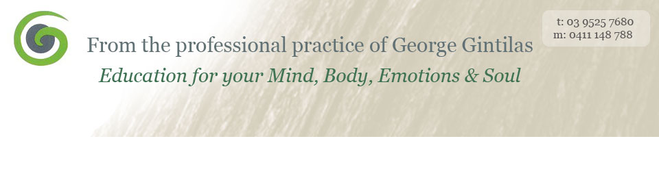 George Gintilas - Emotional Health and Wellbeing